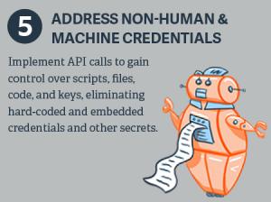 非人的なマシンの資格情報に対処する