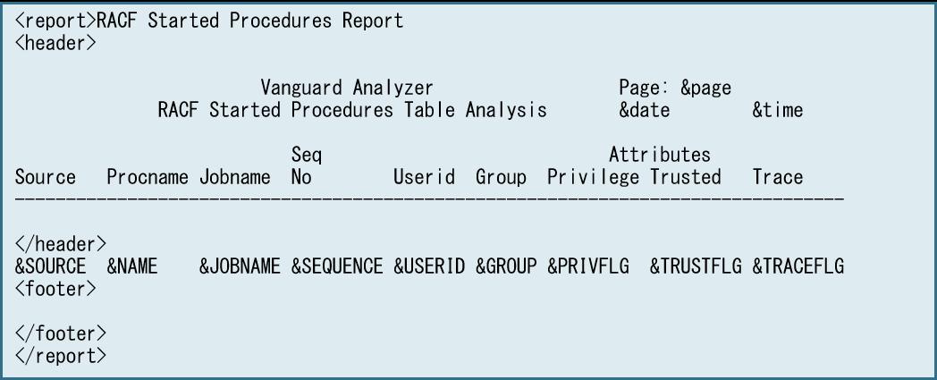 QuickGenレポート例1