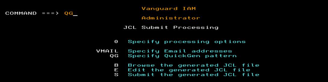 Administratorのパネル例